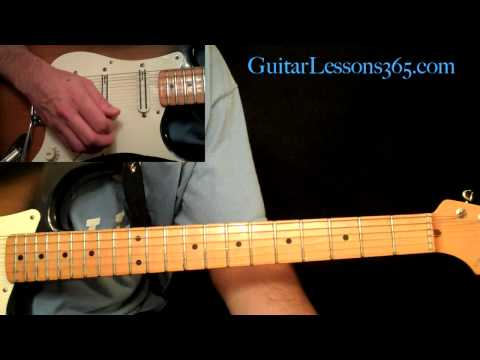 Stevie Ray Vaughan - Texas Flood Guitar Lesson Pt.3 - Guitar Solo