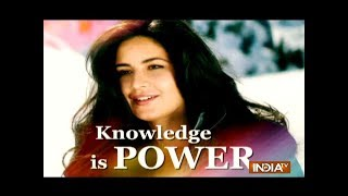 In Pics: Katrina Kaif named ambassador of Educate Girls - INDIATV