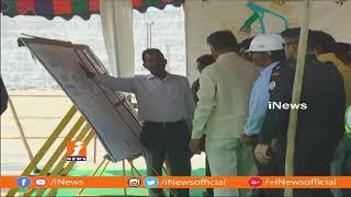 Central Minister Nitin Gadkari To Visit Polavaram Site With CM Chandrababu Tomorrow | iNews - INEWS