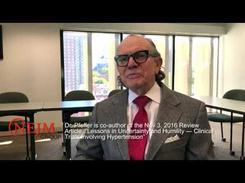 Marc Pfeffer, M.D., Ph.D., Discusses Clinical Trials of Hypertension