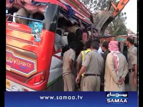 Sukkur accident  Death toll hits 42