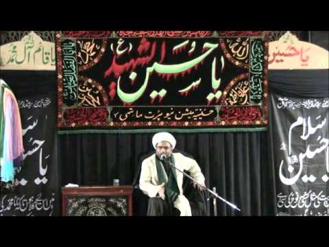 Majlis on Matam, Wearing Black Clothes and Zanjeer Zani by Mawlana Sarfaraz Hussain