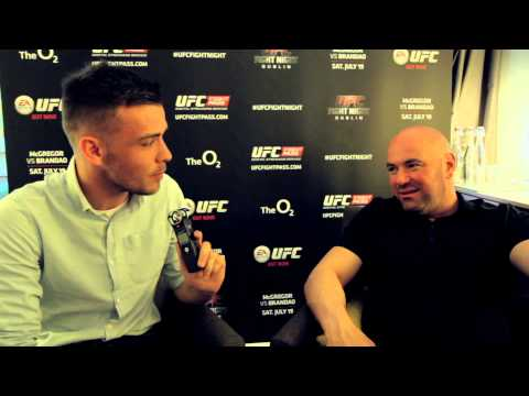 Interview with Dana White ahead of UFC Dublin