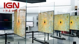 LG's New TV Is Less Than 3mm Thick - IGN News
