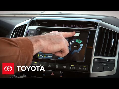 2013 Land Cruiser: Four Zone Automatic Climate Control