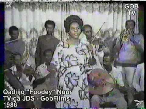 """Khadija """"Foodey"""" Nur, Mogadisho,"""