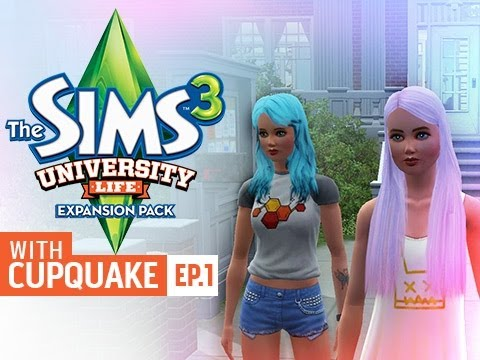 """MY LITTLE PONY SISTERS"" Sims 3 University Life Ep 1"