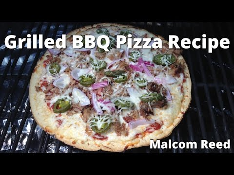 Grilled BBQ Pizza | How To Grill a Pulled Pork Barbecue Pizza with Malcom Reed HowToBBQRight