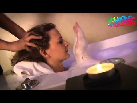 Vidéo Spa à Paris - Soin au lait d'ânesse