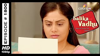 Balika Vadhu : Episode 1792 - 24th January 2015