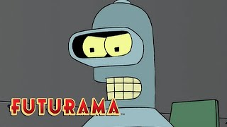 FUTURAMA | Season 4, Episode 12: Star Trek Wars | SYFY - SYFY