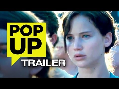 Hunger Games Trailer PopUp - Jennifer Lawrence HD MOVIE (2012)