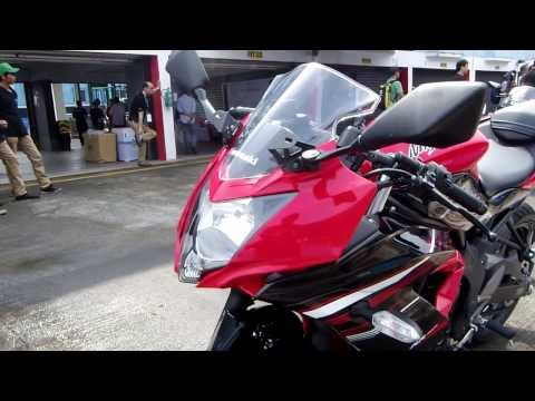 Kawasaki Ninja 250SL (RR Mono) Single Cylinder Exhaust Sound