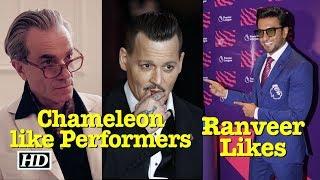 Ranveer Singh Likes Chameleon-like Performers - IANSLIVE