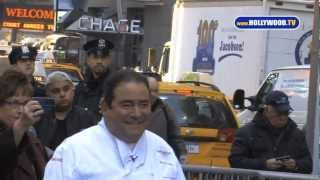 chanel-: BAM! Emeril Lagasse Cooks for GMA in NYC- Hollywood.TV