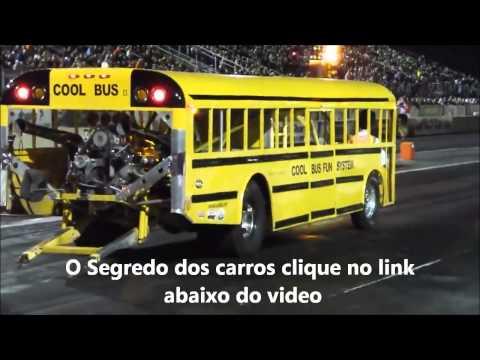 Onibus escolar com Turbo