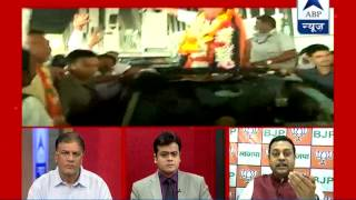 ABP News debate l Who will become Chief Minister of Maharashtra? - ABPNEWSTV