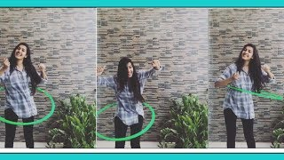 Niharika Konidela Enjoying Her Childhood Favorite Hula Hooping Game Video - RAJSHRITELUGU