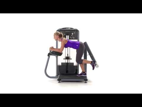 Discovery Series Selectorized Line Glute Extension NoText