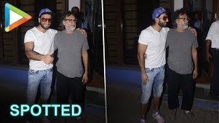 Deadpool Ranveer Singh SPOTTED with legendary director  Rakeysh Omprakash Mehra - HUNGAMA