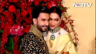 Deepika And Ranveer Make Royal Appearance At Bengaluru Reception - NDTV
