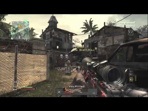 Call of Duty: MW3 - Sniper 5 Man Quick Scope Feed | Modern Warfare 3