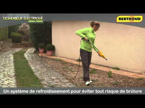 Related video - Desherbeur electrique green power ...