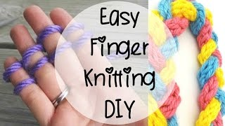 How to Finger Knit, Episode 80