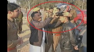 In Graphics: Udhampur cops distribute helmets to motorists - ABPNEWSTV
