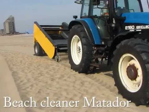 Beach cleaner machine Matador