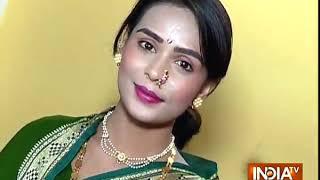 Mandita turns a Marathi Mulgi , celebrates New Year - INDIATV