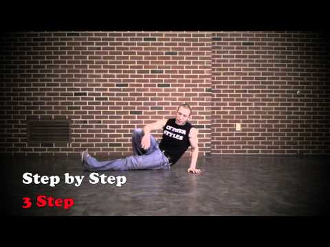 3 Step - Bboy Footwork 1 DVD