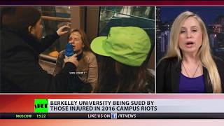 'Why do we need police then?' Berkeley sued for failing to protect people during violent campus riot - RUSSIATODAY
