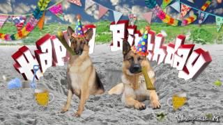 Happy birthday german shepherd youtube m4hsunfo