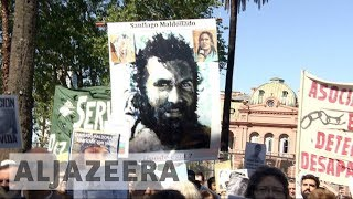 Missing Argentine activist's body found days before election - ALJAZEERAENGLISH