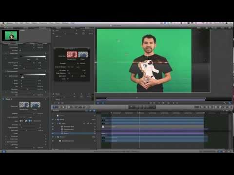 Final Cut Pro X Image Stabilization &amp; Motion 5 Keying