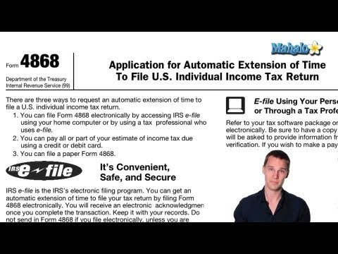 How to File For a Tax Extension