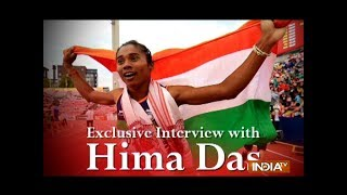 It's a proud moment for me to be nominated for the Arjuna award: Hima Das - INDIATV