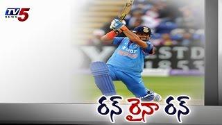 Suresh Raina's 75 ball 100 powers India to 304 6 TV5 News - TV5NEWSCHANNEL