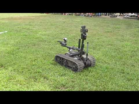 Charles County Fair Military robots