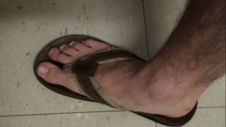 18f8979e6f9 Abercrombie   Fitch Leather Flip-Flops (HD) - YouTube