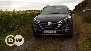 Test drive: Hyundai Tucson | DW English - DEUTSCHEWELLEENGLISH