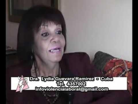 Violencia de Familia. Entrevista Lydia Guevara Ramirez