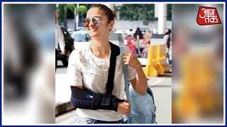 Alia Bhatt Injured While Filming Action Sequence For New Movie 'Brahmastra' In Bulgaria - AAJTAKTV