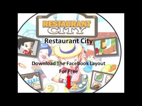 Restaurant City Facebook Layout Download