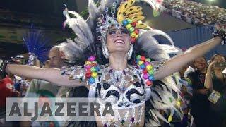 Samba schools get creative with politics at Rio carnival 2017 - ALJAZEERAENGLISH