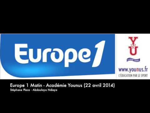 L'Académie YOUNUS sur EUROPE1