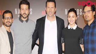 Alia & Shakun engage in a panel discussion with 'Narcos' starcast & more! | Bollywood News - ZOOMDEKHO