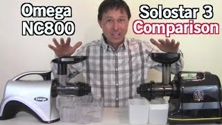 Kuvings Whole Slow Juicer Vs Omega 8006 : Omega NC800 vs Solostar 3 Juicer Review Comparison. ????? ?? ???? ?????????