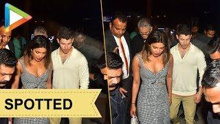 Priyanka Chopra SPOTTED with rumoured boyfriend Nick Jonas in Mumbai - HUNGAMA